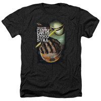 DAY THE EARTH STOOD STILL/HOLD THE PLANET-ADULT HEATHER-BLACK