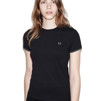 Fred Perry - Pique T-Shirt Black