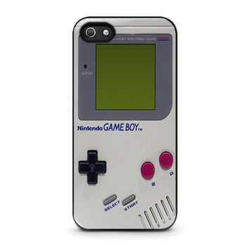 nintendo game boy iphone 5 5s se case cover  number 1