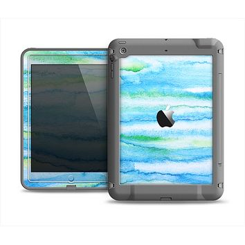 The Abstract Oil Painting Lines Apple iPad Air LifeProof Fre Case Skin Set