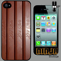 Cover for iPhone 4/4S/4G Chocolate Kit Kat Sweets Candy Funny Phone Case *6098
