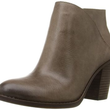 Lucky Brand Womens eesa  Closed Toe Ankle  Leather Fashion Boots