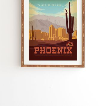 Anderson Design Group Phoenix Framed Wall Art