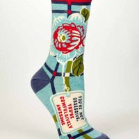 You're Not Obsessive, You're Compulsively Awesome Women's Socks