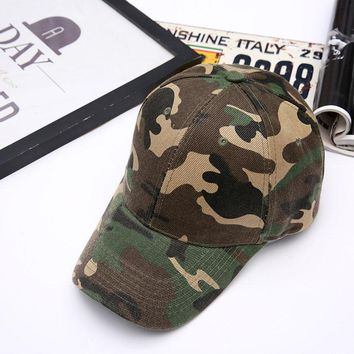 Women Men Camo Caps Army Camouflage snapback Caps Tactical Hats Dad Caps casquette homme Desert Camo Hat  Sun Hat Golf Hats