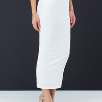 Build A Solid Foundation Maxi Skirt
