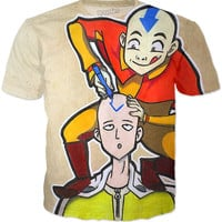Avatar Meets One Punch Man