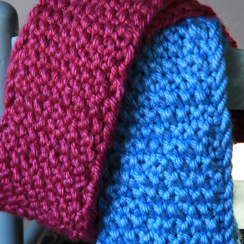 Multiple Color Choices! Chunky Infinity Scarf, chunky cowl scarf, winter accessories, circle scarf, cowl scarf / Made to Order
