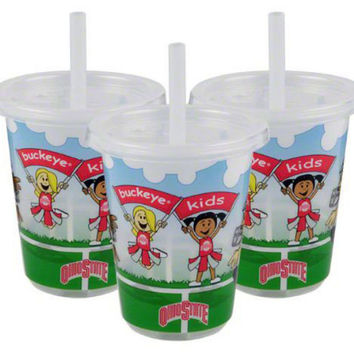 NCAA Ohio State Buckeyes Baby Fanatic Sip N Go Cups (3-Pack)