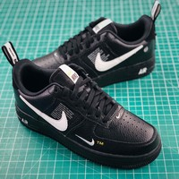 Nike Air Force 1 07 Lv8 Utility Pack Black Fashion Shoes - Best Online Sale