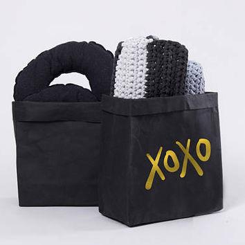 Black Home Decor, Water Resistant Storage bag, Storage Basket, Plant Basket, Towel Storage, Storage Bin, Bathroom Storage, Laundry Hamper