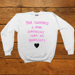 Your Ignorance Is More Scandalous Than My Promiscuity -- Unisex Sweatshirt/Long-Sleeve