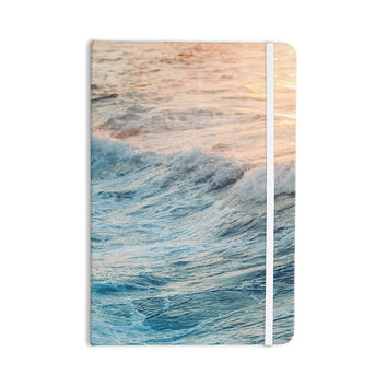 "Chelsea Victoria ""Sherbert Ocean"" Orange Nature Everything Notebook"