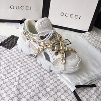 GUCCI Fashion Women Casual Flashtrek Crystals Sport Shoes Sneaker I/A