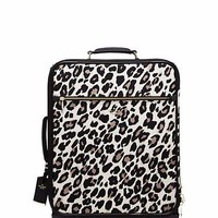 classic nylon leopard international carry-on