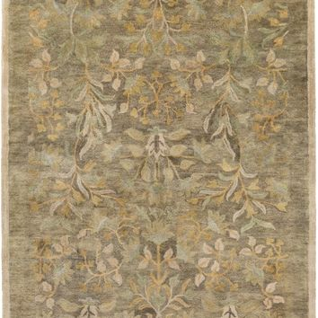 Surya Fitzgerald Arts and Crafts Green FGD-1005 Area Rug