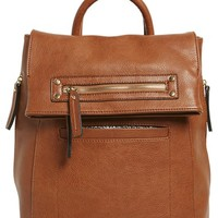 Sole Society Large Faux Leather Backpack | Nordstrom