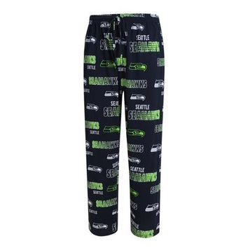 Seattle Seahawks Sweep Mens Printed Knit Pants