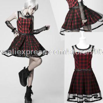 necessary Lolita Japanese black rock sugar it all Scottish spell leather dress Q - 205 Alternative Measures - Brides & Bridesmaids - Wedding, Bridal, Prom, Formal Gown