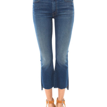 INSIDER CROP STEP FRAY JEAN AS SEEN ON LUCY HALE