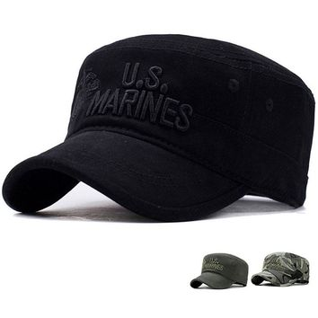 Tactical Baseball Cap Men Army Marines SWAT Soldier Camouflage Cap Outdoor Sports Combat Camping Hiking Camo Snapback Hat