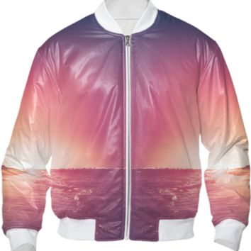 Summer - Bomber jacket created by HappyMelvin | Print All Over Me