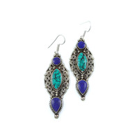 Native Point Earrings