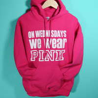 On Wednesdays We Wear Pink Hoodie | Yotta Kilo
