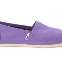 PURPLE DAHLIA CANVAS WOMEN'S CLASSICS