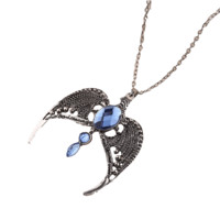 Ravenclaw Sapphire Stone Necklace