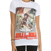 Kill La Kill Group Sublimation Girls T-Shirt