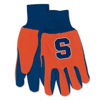 Syracuse Orange - Adult Two-Tone Sport Utility Gloves