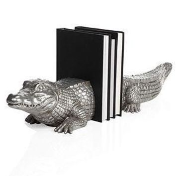 Alligator Bookends | Bookends | Decor | Z Gallerie