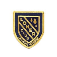 Loner Club Patch
