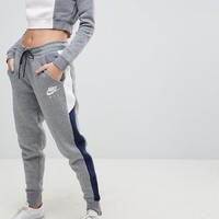 Nike Air Colourblock Regular Fit Joggers at asos.com