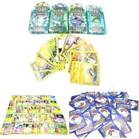 Kids Card Games 100 Assorted Trading Cards for POKEMON XY Card as Children Gifts BB [9305890503]