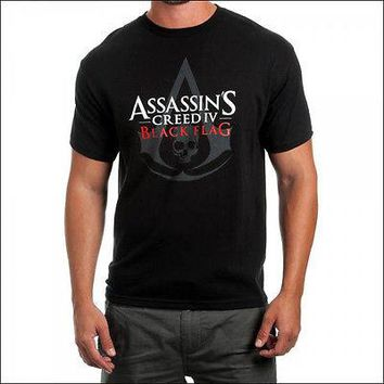 Assassins Creed IV 4 Black Flag T-Shirt Top Tee Official Licensed Men's S SMALL