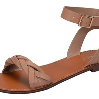 Twisted Fun Natural Sandals
