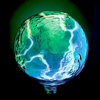 Lumisource Earth Plasma Globe Light