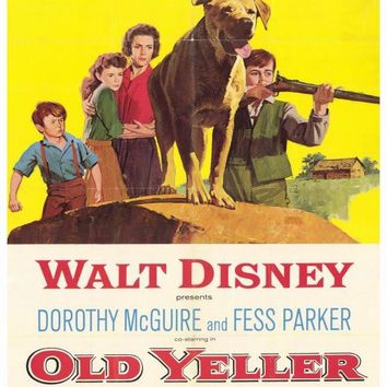 Old Yeller 27x40 Movie Poster (1957)