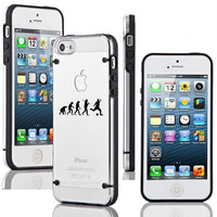 """For Apple iPhone 4 4s 5 5s 5c 6 4.7"""" 6 Plus Transparent Ultra Thin Clear Hard TPU Case Cover Evolution Soccer"""