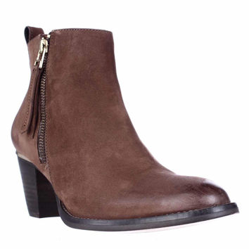 Steve Madden Wantagh Casual Ankle Boots - Cognac