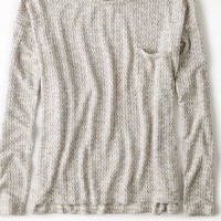 AEO Women's Feather Light Pocket Sweater