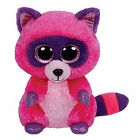 TY Beanie Boos Roxie the Raccoon Small 6""