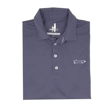 The Longshanks Fairway Prep-Formance Polo in Midnight by Johnnie-O