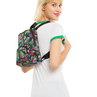 Dickies Tropical Print Mini Backpack