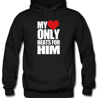 My Heart only beats for him Hoodie
