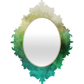 Allyson Johnson Peacock Ombre Baroque Mirror