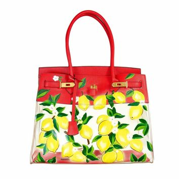 De-Vesi De Limone Clear Bag