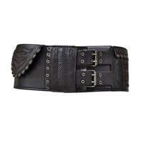 Tom Ford for Yves Saint Laurent F/W 2001 Collection Iconic Wide Leather Belt